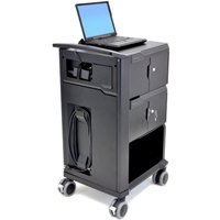 Ergotron 24-238-085 Tablet Management Cart with Individual Status Indicators, Two Modules, 32 Capacity