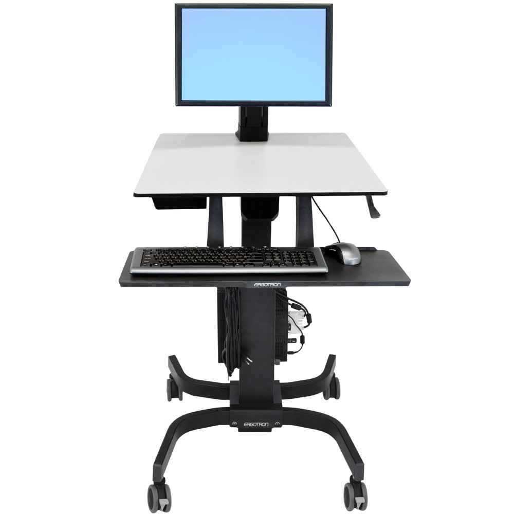 Sit Stand Cart Ergotron 24 215 085 Workfit C Single Ld