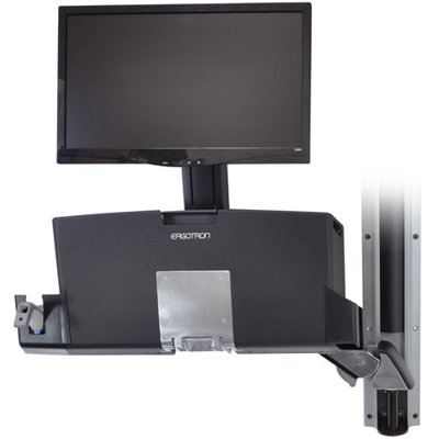 Ergotron 45 272 026 Styleview 174 Sit Stand Combo System With