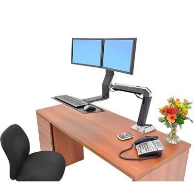 Ergotron 24 257 026 Workfit A Dual Display Sit Stand