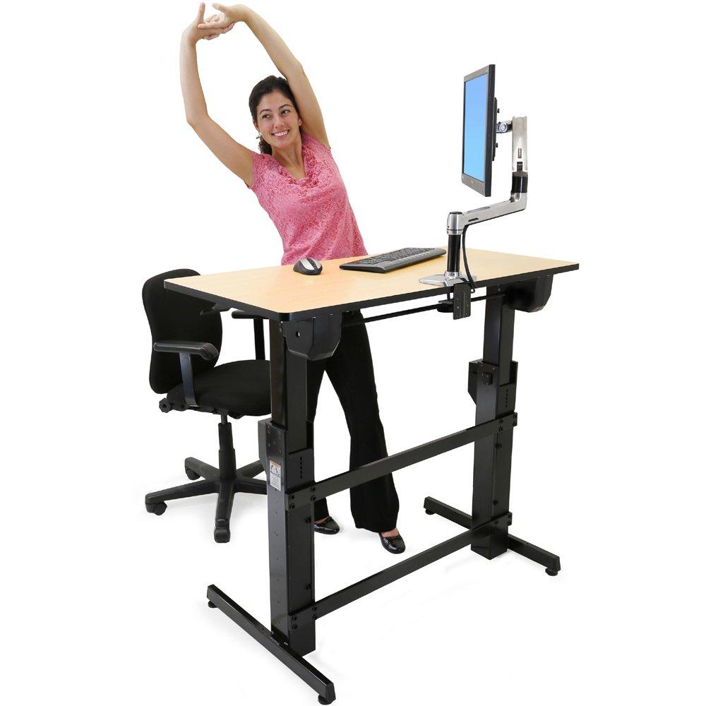 Adjustable Standing Desk Officeworks Adjustable Standing