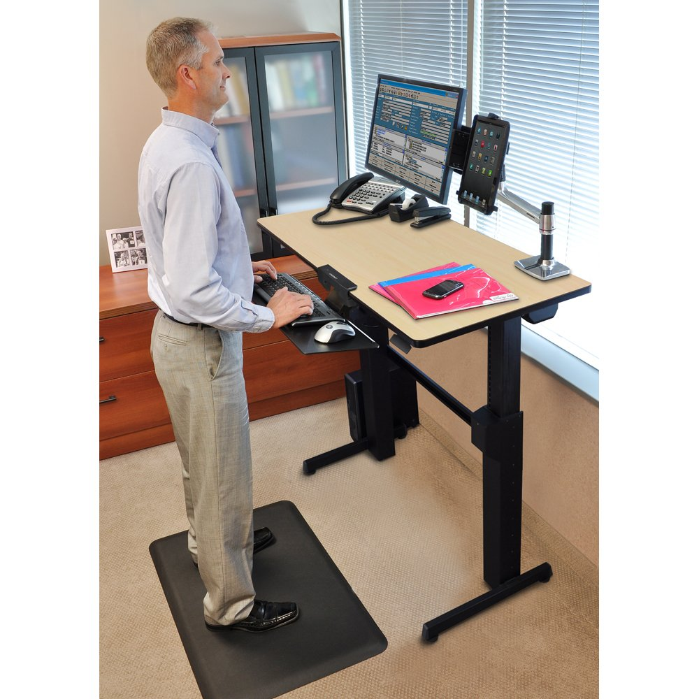 Workfit D Sit Stand Desk Ergotron Workfit D Sit Stand