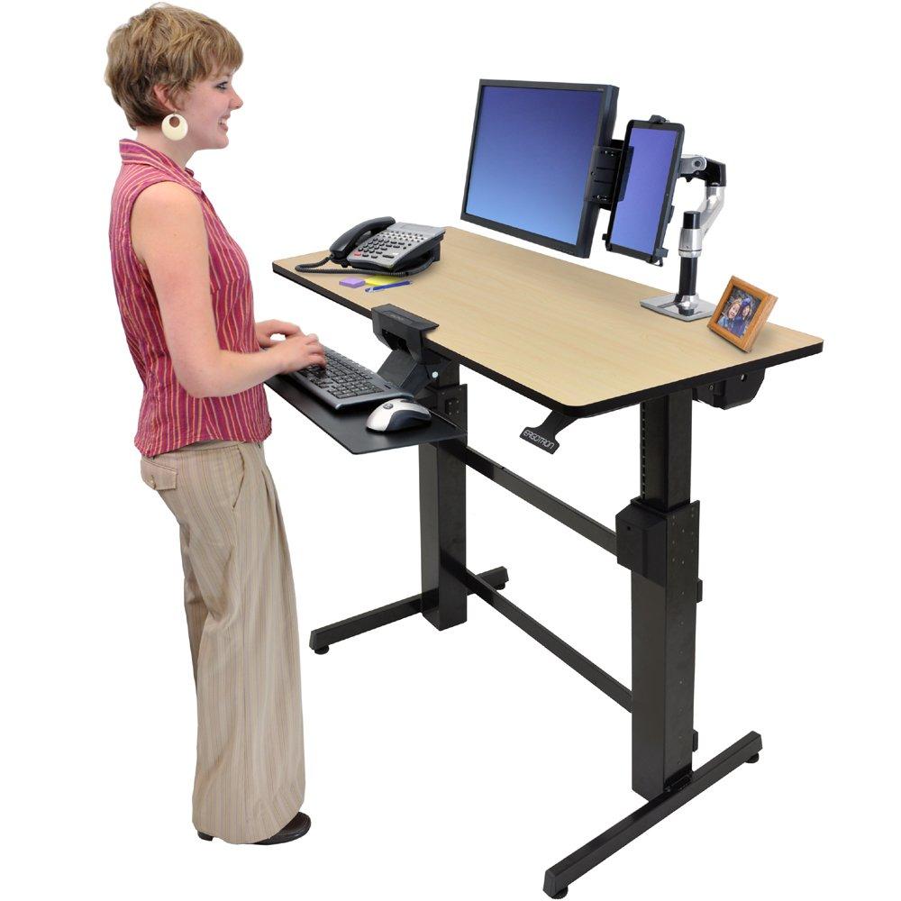 Standing Desk Ergotron 24 271 928 Workfit D
