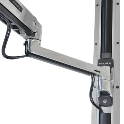 Wall Mount Keyboard Arm Ergotron 45 354 026 Lx Sit Stand