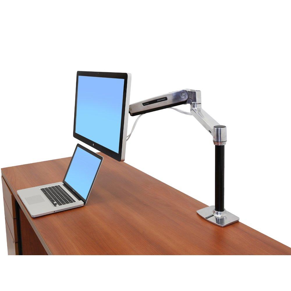 Lx Hd Sit Stand Desk Mount Lcd Arm Ergotron Lx Hd Sit
