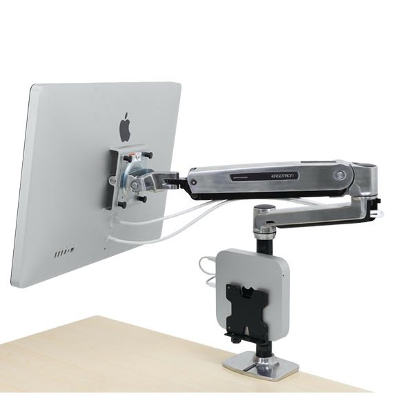 Sit Stand Desk Monitor Arm Ergotron 45 384 026