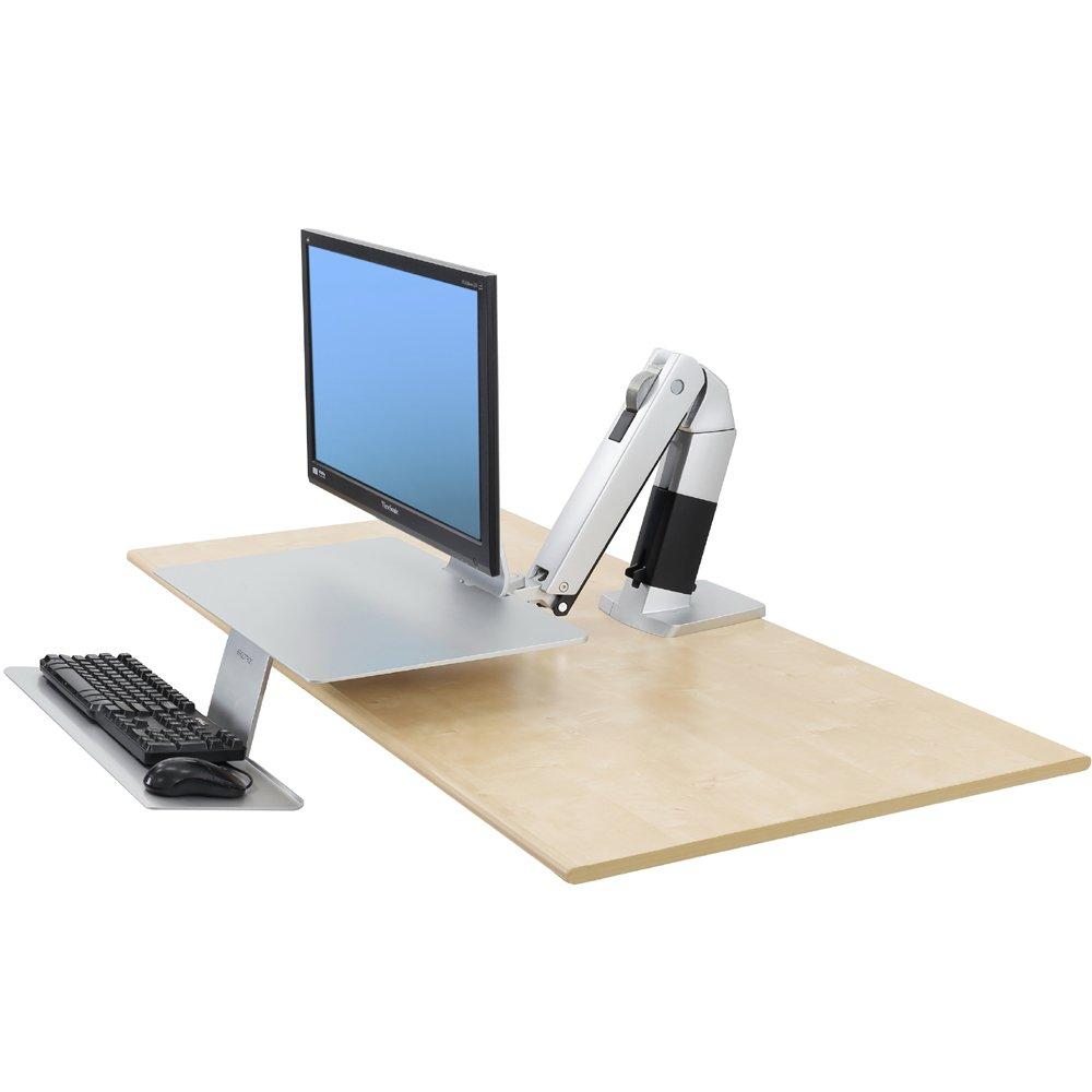 Workstation For Apple Ergotron 24 422 227 Workfit A Platinum