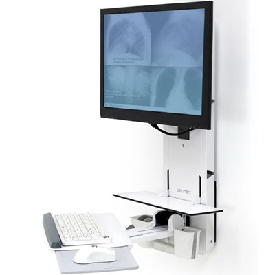 Ergotron 61 080 062 Sv Sit Stand Vertical Lift Patient Room