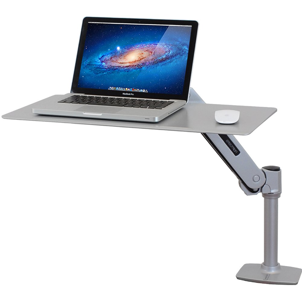 Workstation For Apple Laptops Ergotron 24 408 227 Workfit P
