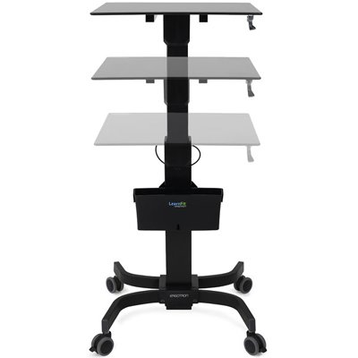 Height Adjustability Of Ergotron 24 458 200 LearnFit. Highlights. Height Adjustable  Desk ...