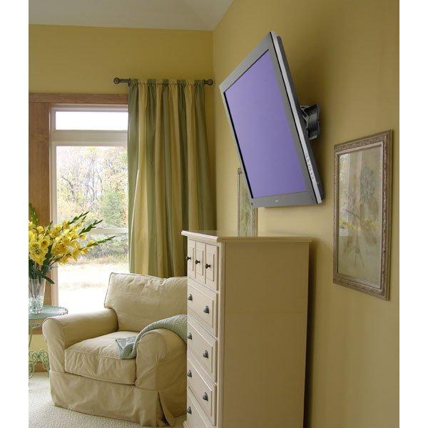 Bedroom Ceiling Mounted Tv Zen Bedroom Decor Japanese Bedroom Door Jack Wills Bedroom Ideas: Ergotron 61-142-003 TM Tilting TV Wall Mount, XL