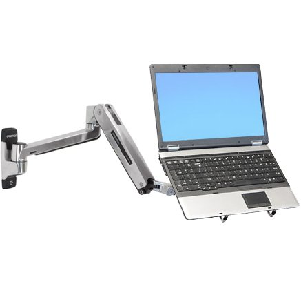 Ergotron Lx Sit Stand Laptop Wall Mount Arm