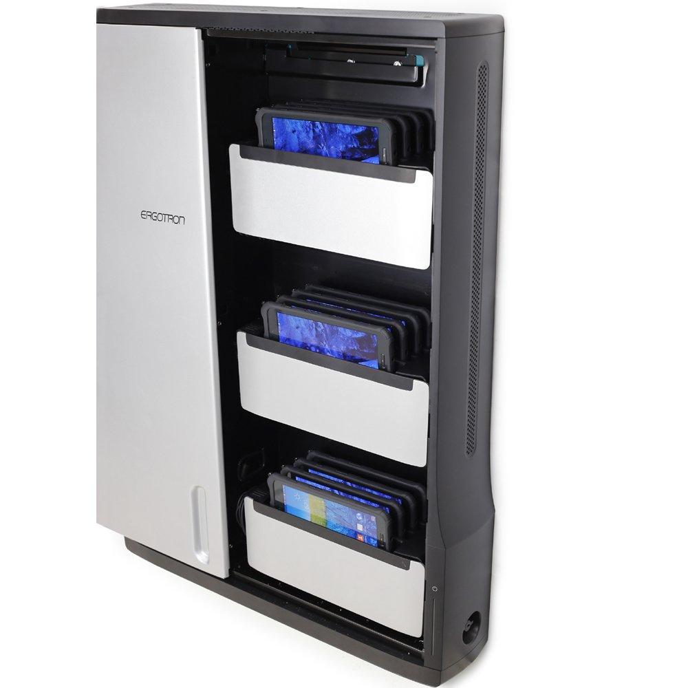 Ergotron 97 944 085 Zip12 Charging Wall Cabinet Easy
