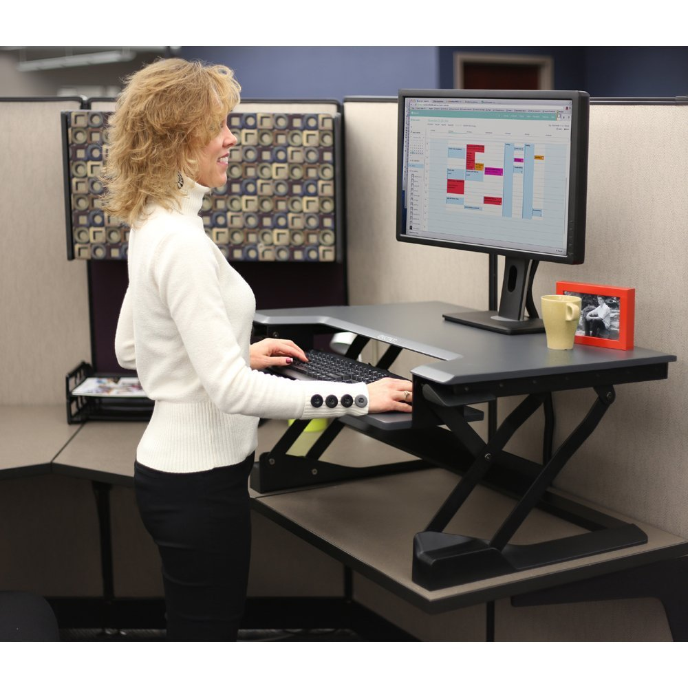 Ergotron Ed Wft S1m Single Monitor Sit Stand Desktop