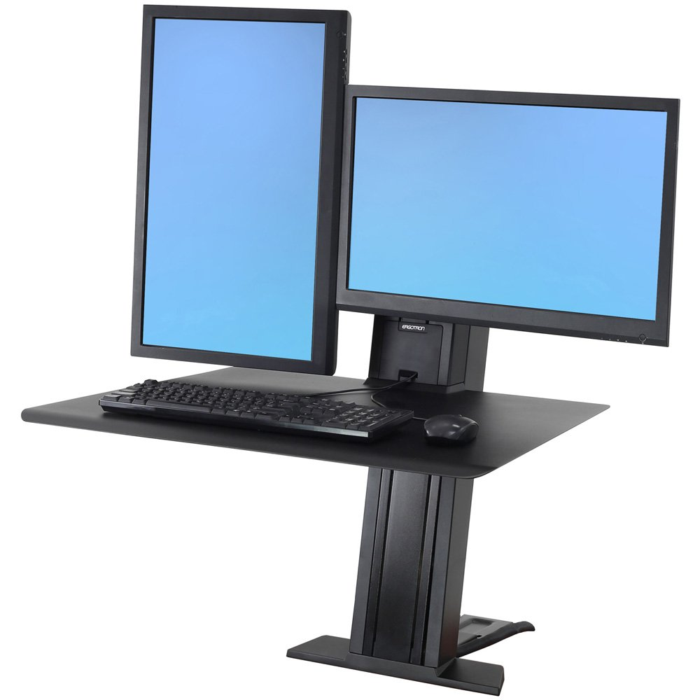 Ergotron 33 407 085 Workfit Sr Rear Mount Dual Sit Stand