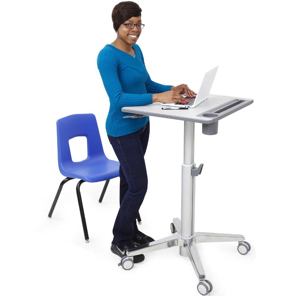 Ergotron 24 547 003 Learnfit Sit Stand Student Desk For