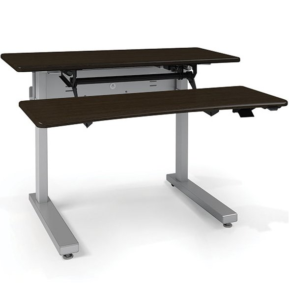 Ergotron Mvjb48ss Elevate Adjusta 48 Electric Sit Stand Desk