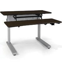 Ergotron Mvjb48ss Elevate Adjusta 48 Electric Sit Stand Desk