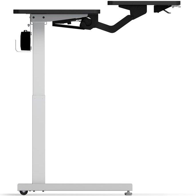 Ergotron Mvjb60ss Elevate Adjusta 60 Electric Sit Stand Desk