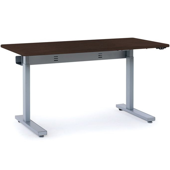 Ergotron Mvbd48ss Elevate 48 Electric Sit Stand Desk