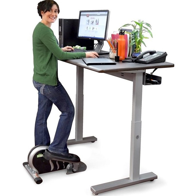 Ergotron Mvbd60ss Elevate 60 Electric Sit Stand Desk