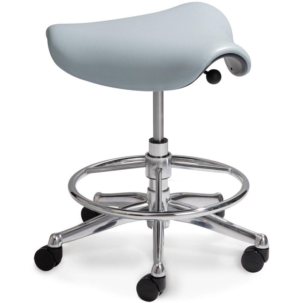 """Humanscale Freedom Saddle Seat (22"""") or Pony Saddle Seat (16"""") Saddle Seat"""