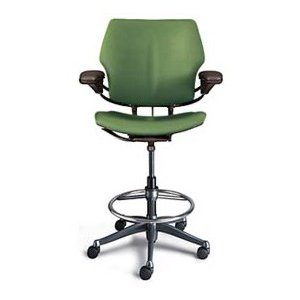 Humanscale Freedom Ergonomic Drafting Leather High Office Chair 2 Jpg