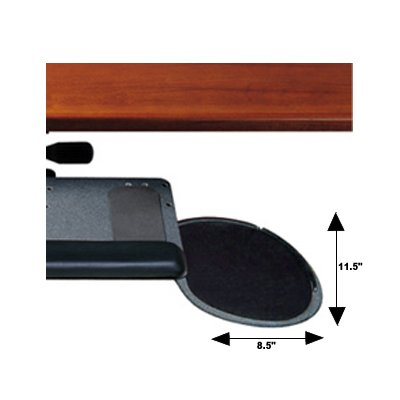 Adjustable Keyboard Tray With Mouse Platform Compact