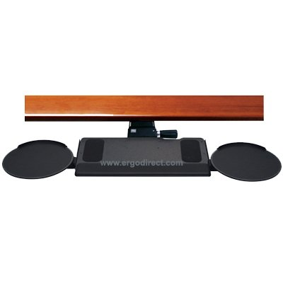 Humanscale Keyboard Tray With Dual High Clip Mouse
