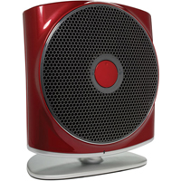 Humanscale Zon Personal Air Purifier Red