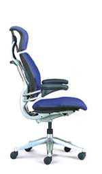 Humanscale Freedom Task Chair - Polished Aluminum