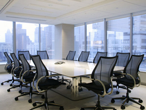Humanscale Liberty Task Chairs in Conference meeting