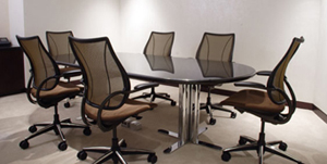Humanscale Liberty Task or Conference Chair in group meeting