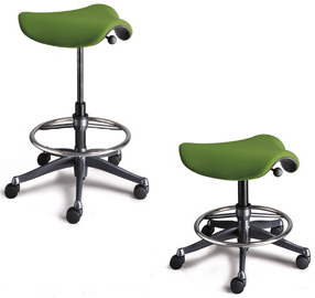 Humanscale Saddle Seat with footring