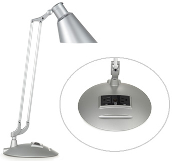 Humanscale DTECH1E Single Arm with Work Shade Diffrient Technology Ideal Lighting