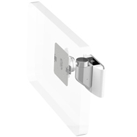 Humanscale M8 Arm with Universal Slatwall Mount, Ball Joint only and White