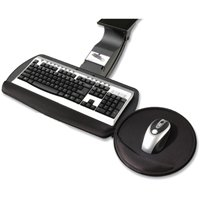 "Idea@Work PLP-1 Adjustable Mouse Over Keyboard Platform with AKP115 - 18"" Track"