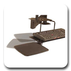 Innovative 8056 Left or Right Handed Mouse Tray
