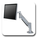 Innovative 9105-FM Heavy Duty ( 54 lbs ) Desk Mount LCD Arm - 24 inch Reach