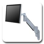 Innovative 9105-WM Heavy Duty ( 54 lbs ) Wall Mount LCD Arm - 24 inch Reach