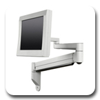Innovative LCD Arms 9199 Wall Mount Long 45.8 inch Reach Arm