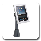 Innovative 9189-12-8424 Adjustable POS Mount with Secure iPad Holder