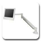 "Innovative 7601-14 Long Reach Flat Panel Arm with Internal Cable Management (42"")"