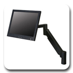 Innovative 7Flex-104i LCD Arm (24 inch) Black - Floats Monitor above Desk