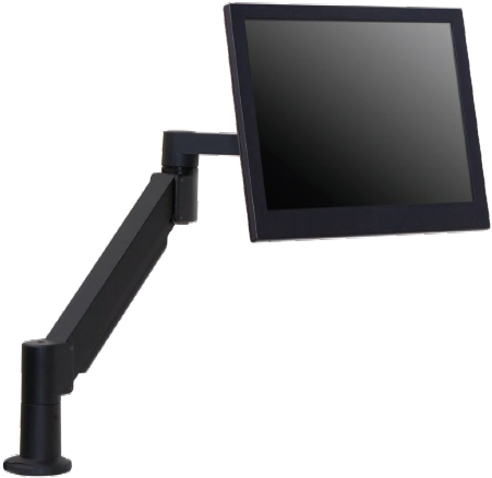 Secure Notebook Height Adjustable Wall Or Desk Mount Arm