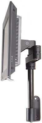 Innovative 9112-S-12-FM Articulating LCD Pole Mount Folded