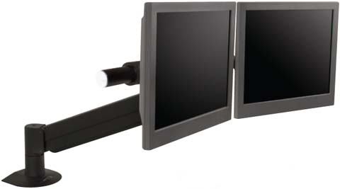 Innovative 9177-2-1500 ArcView Dual Monitor Beam and Height Adjustable Arm