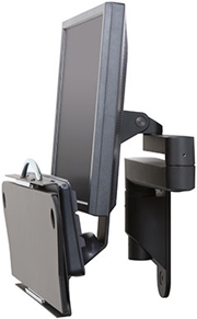 Innovative 9300-HD-DE Wall Mount Data Entry arm with keyboard tray