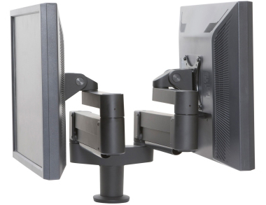 Innovative 7000-8408 Dual LED Monitor Arm Mount up to 30 lbs per Monitor