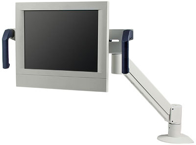 Innovative 7516 Healthcare LCD Monitor Arm with Convenient Handles